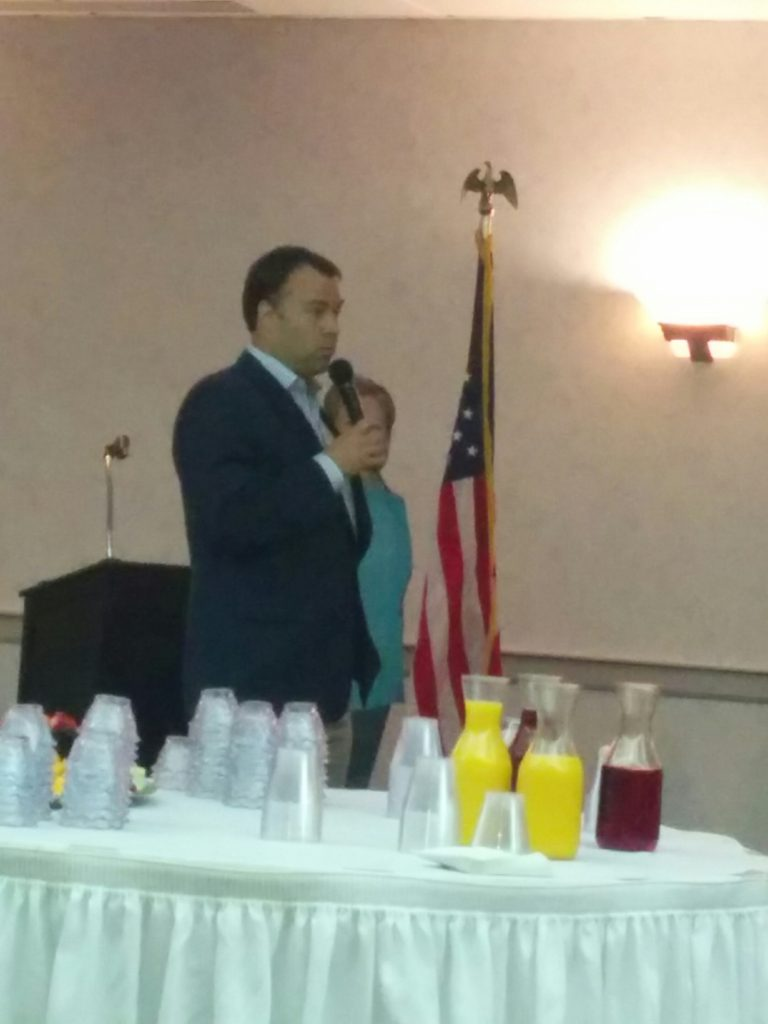 Ohio Democratic Party Chair addresses the EDC Brunch